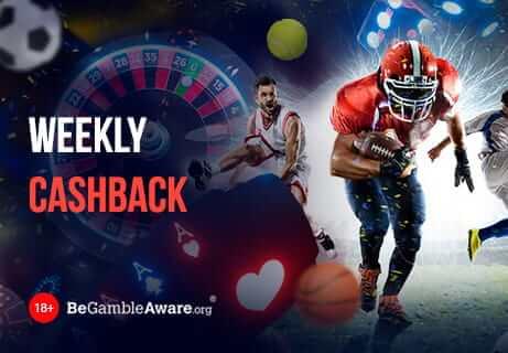 Wöchentlicher Cashback-Bonus